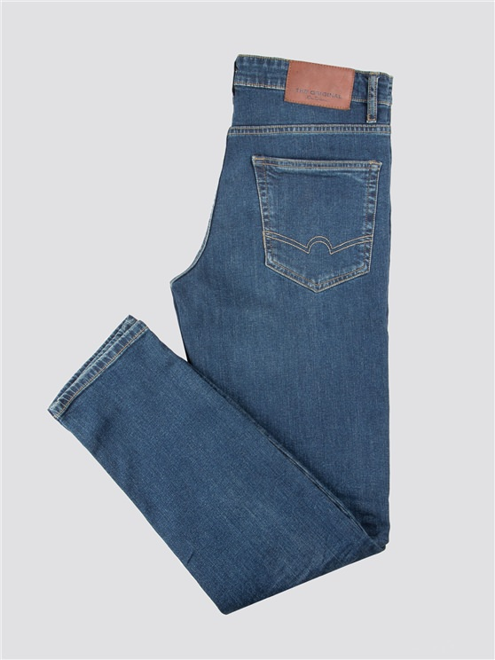 Stonewash Straight Fit Jean- currently unavailable