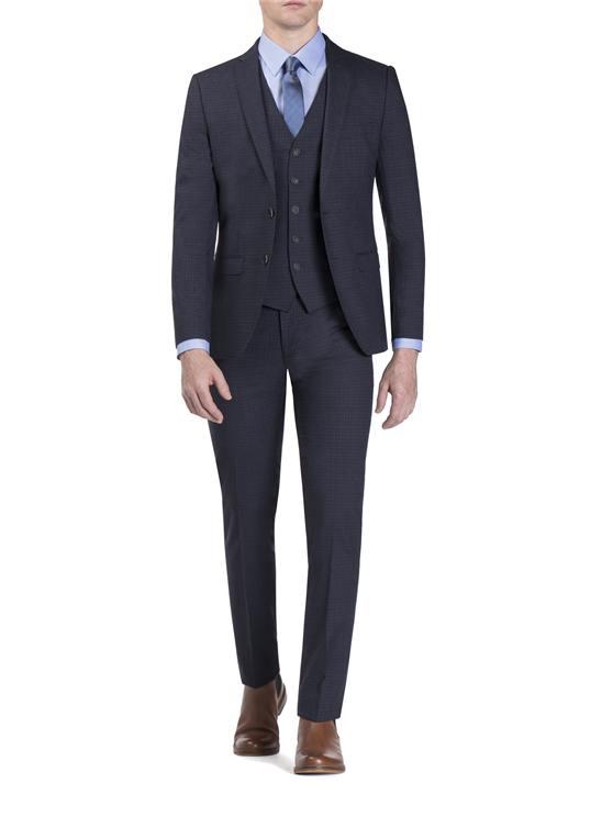 Peacoat Semi Plain Camden Fit Jacket