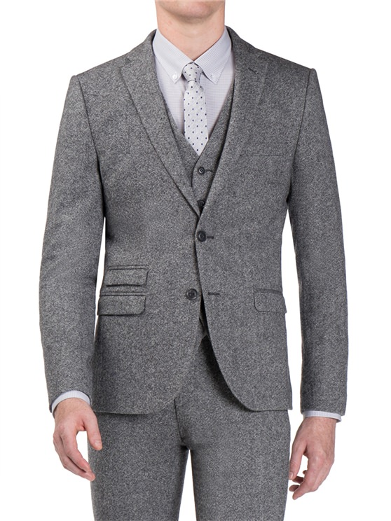 Smoked Grey Donegal Camden Fit Suit