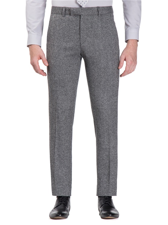Smoked Grey Donegal Camden Fit Trouser