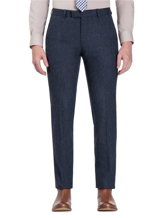 Winter Blue Donegal Camden Fit Trouser