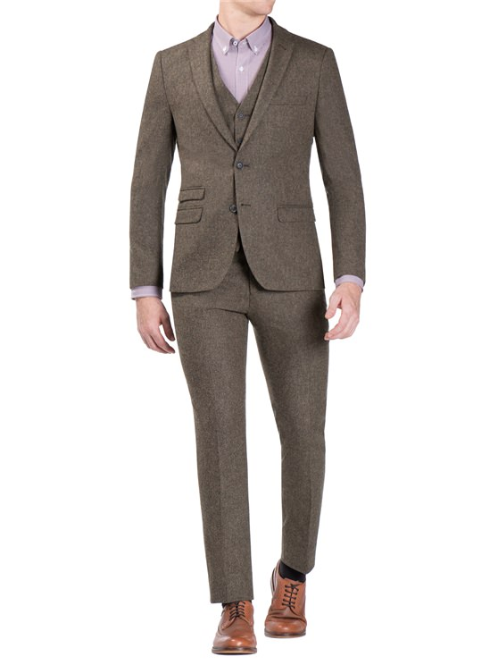 Donegal Three Piece Suit in Forest Green