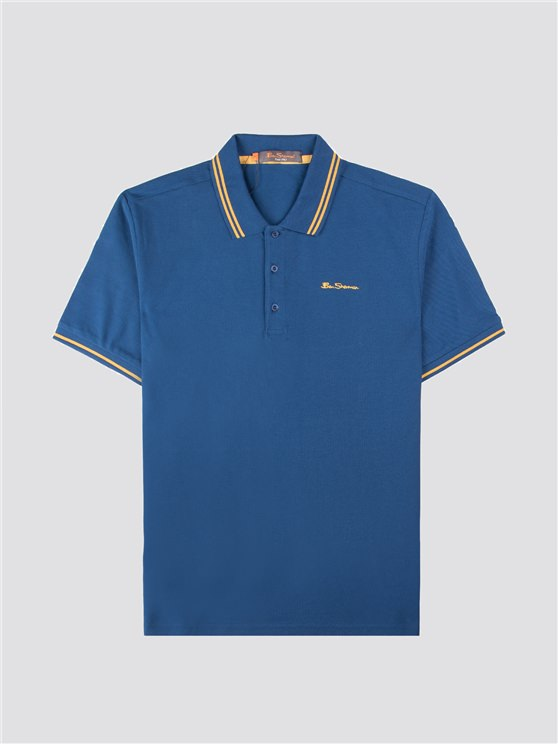 Tipped Pique Polo- currently unavailable