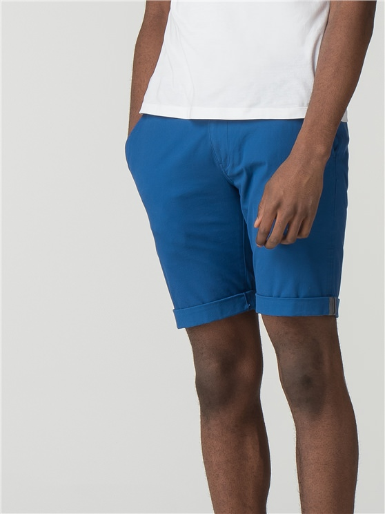 Bright Blue Chino Shorts