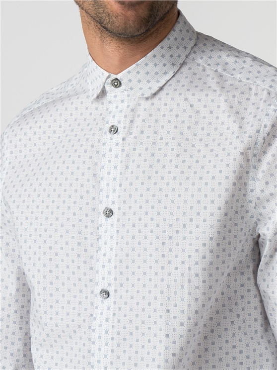 Long Sleeve Micro Dot Shirt