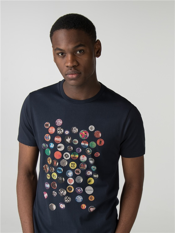 Pin Badge T-Shirt- currently unavailable