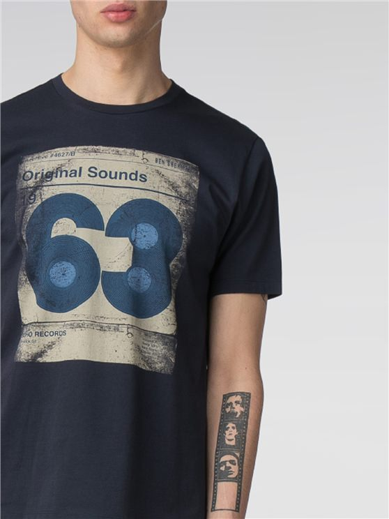 Vinyl 63 Graphic Print T-Shirt