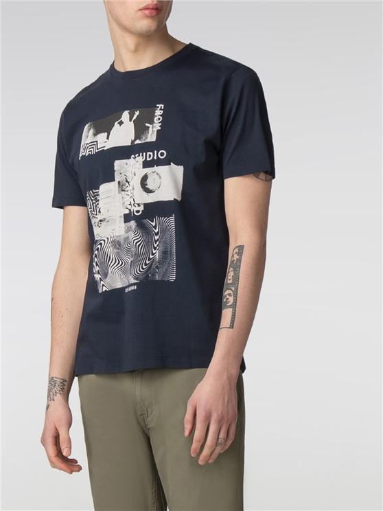 Editorial Graphic Print T-Shirt