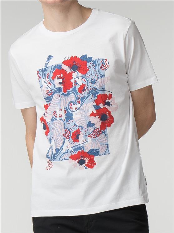 Floral Panel T-Shirt