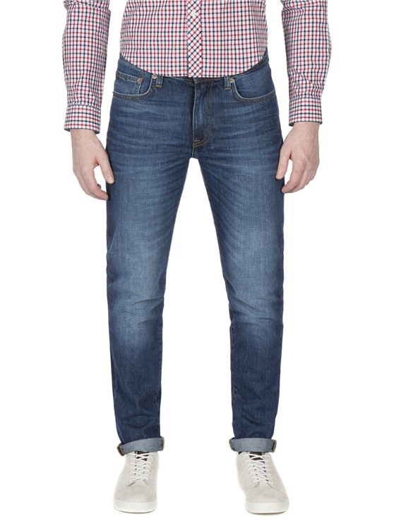 Stonewash Slim Fit Jean