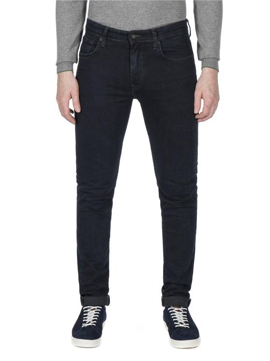 Blue-Black Skinny Fit Jean