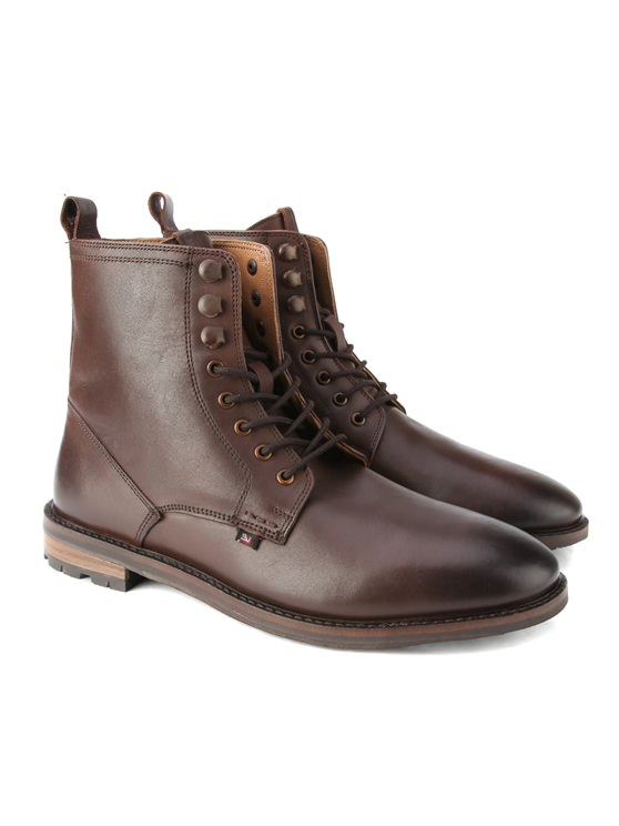 Earl Leather Lace Boot- currently unavailable
