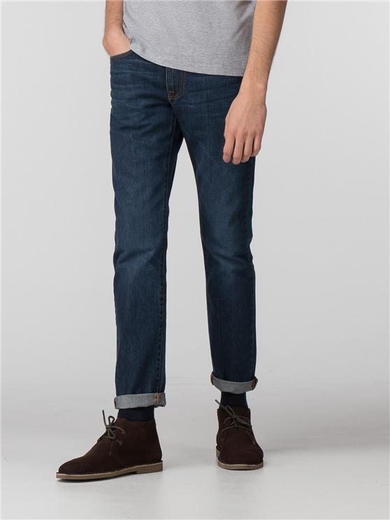 Vintage Rinse Slim Jean