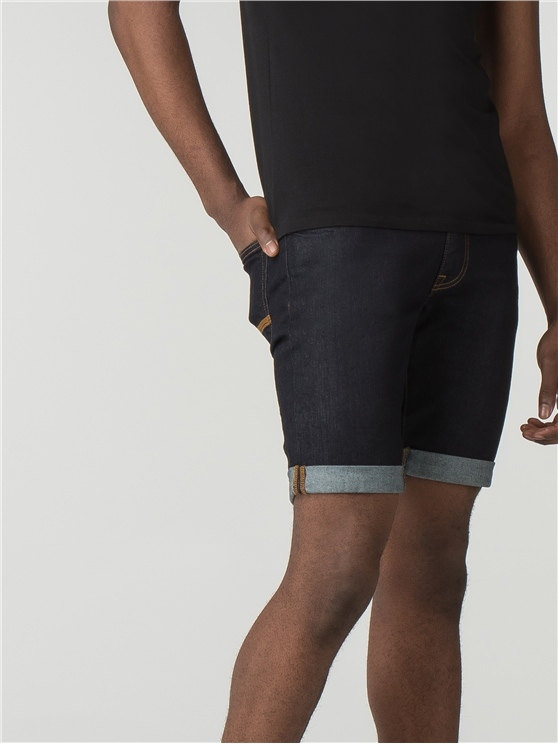 Rinse Wash Denim Short