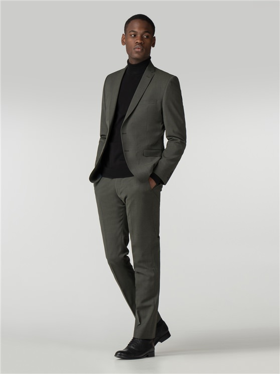 Sage Green Tonic Camden Fit Three Piece Suit