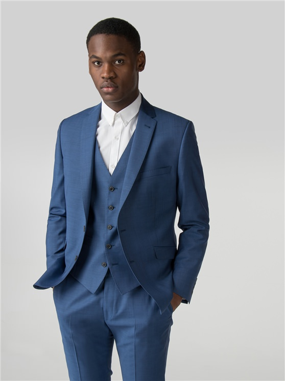 Bright Blue Tonic Camden fit Jacket