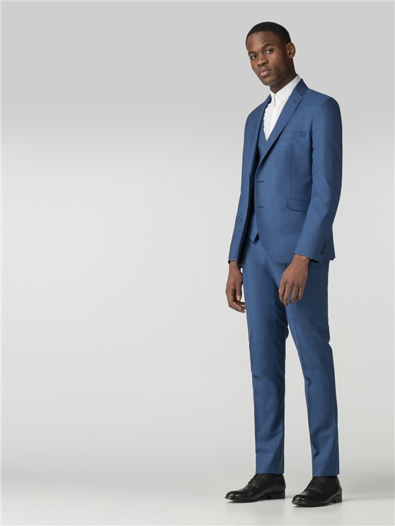 Bright Blue Tonic Camden Fit Suit