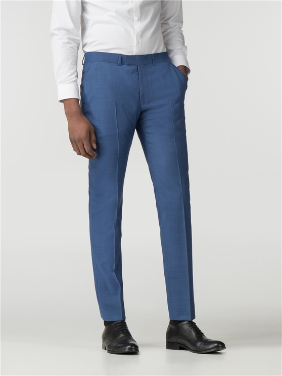 Bright Blue Tonic Camden Fit Trouser