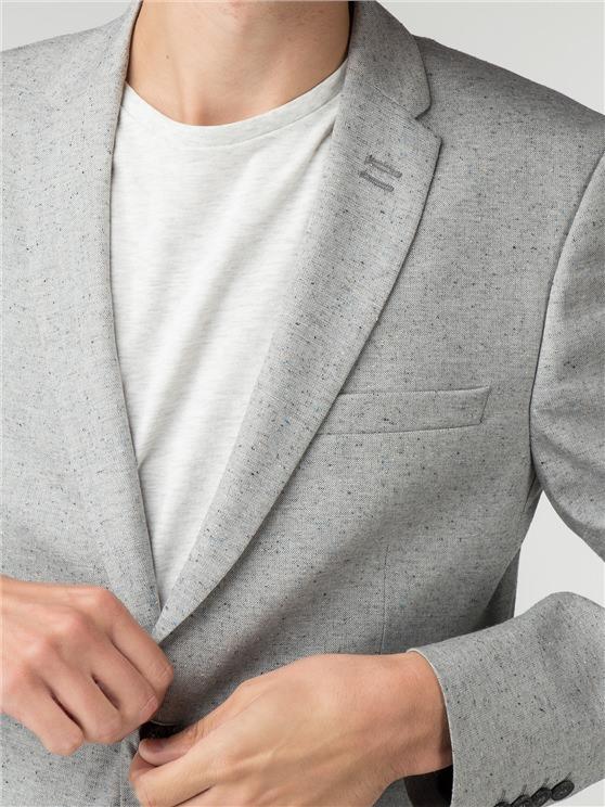 Putty Speckle Camden Fit Blazer