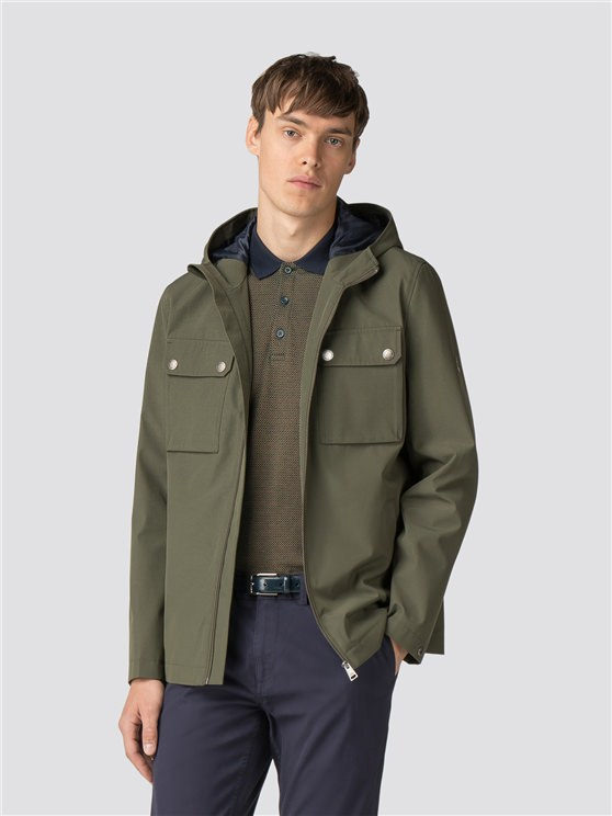 Green Hooded Anorak