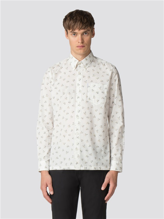 Off-White Long Sleeve Archive Casino Shirt