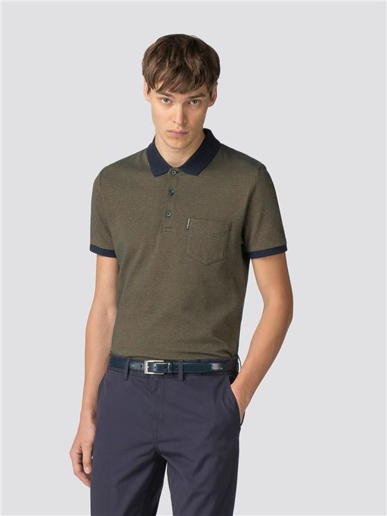 Popcorn Jersey Polo Shirt