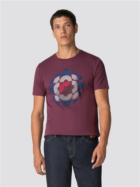 Kaleidoscope Target T-Shirt