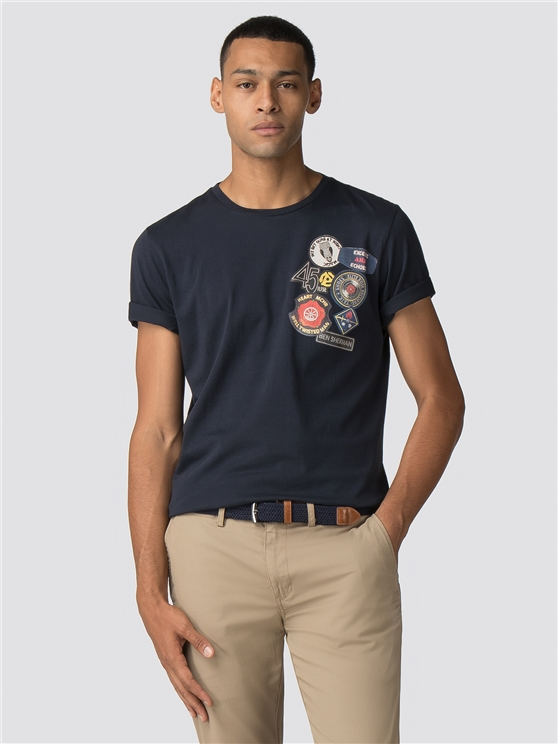 Badge Chest T-Shirt