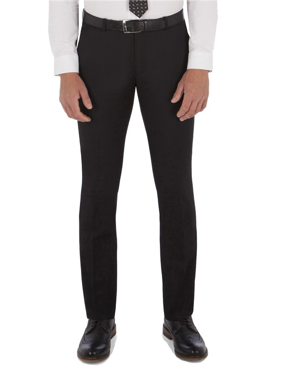 Black Twill Camden Fit Trouser