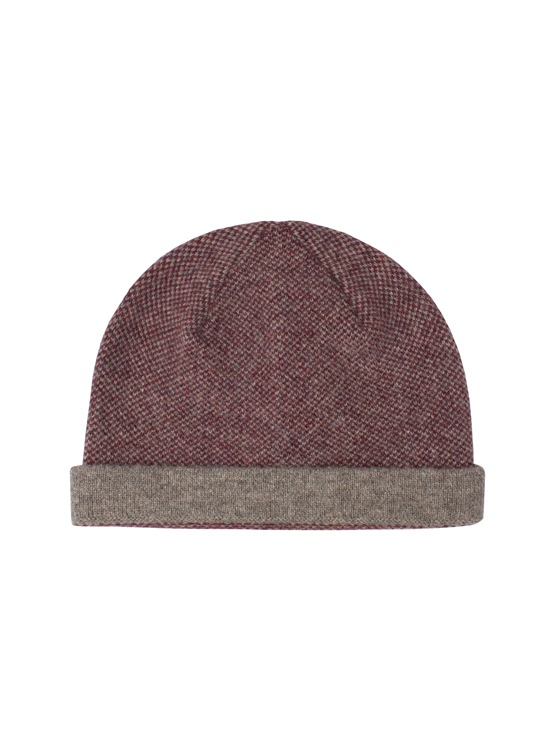 Panelled Knitted Hat- currently unavailable