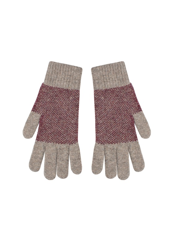 Panelled Knitted Gloves- currently unavailable