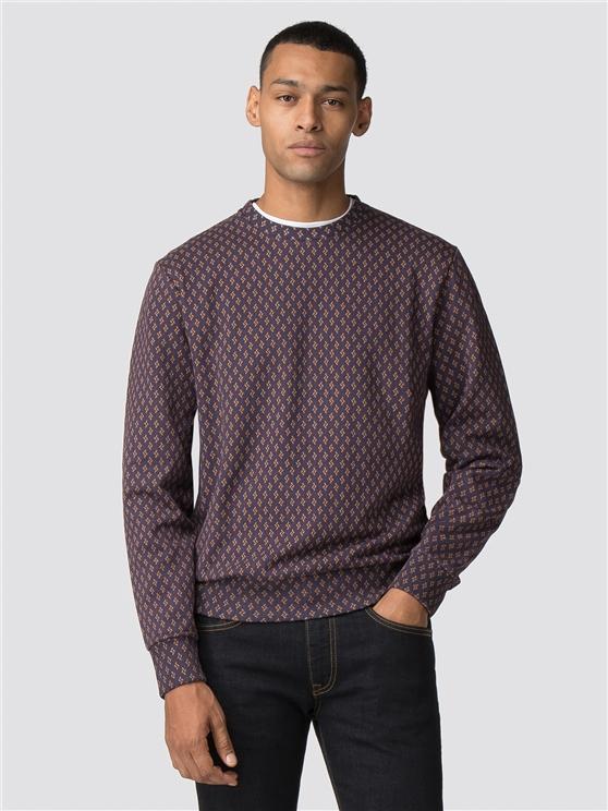 Geo Printed Sweatshirt