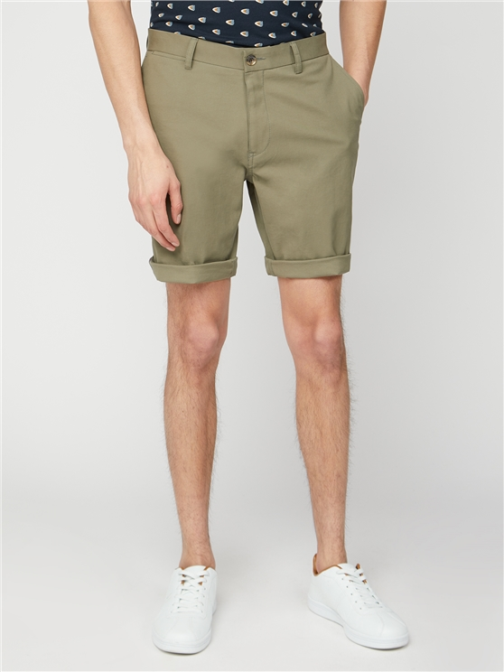 Straight Leg Chino Short