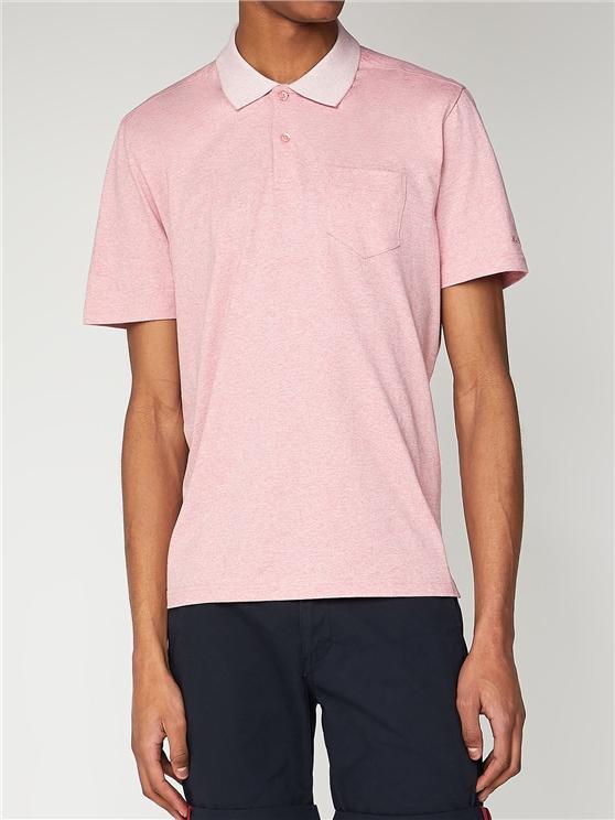 Plain Short Sleeve Jersey Polo