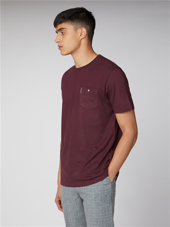 Plain Pocket T Shirt