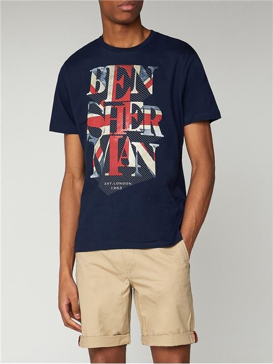Union Jack Graphic T Shirt