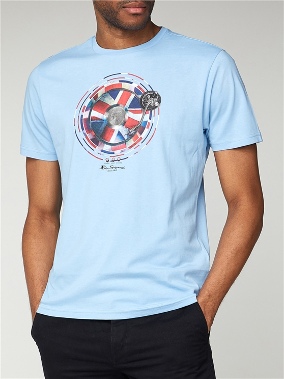 Flag Graphic T Shirt