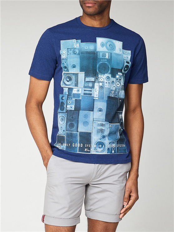 System Sound Graphic T Shirt