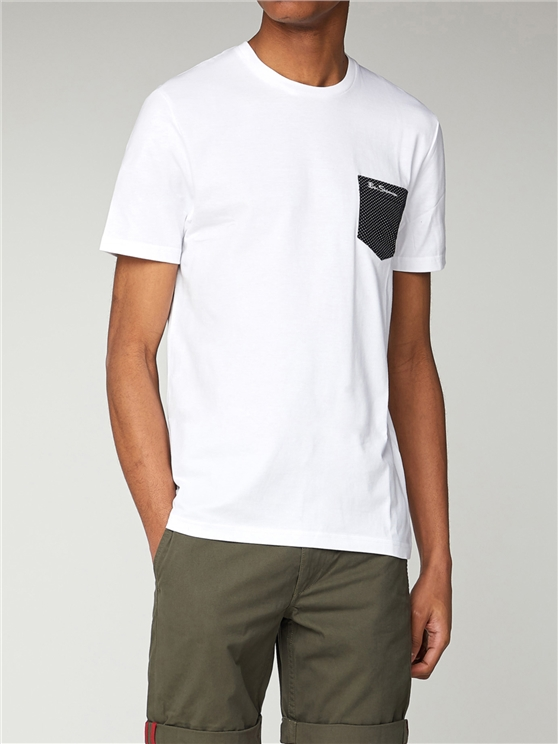 Contrast Pocket T Shirt