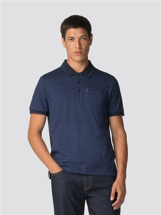 Keith Moon Signature Print Polo Shirt