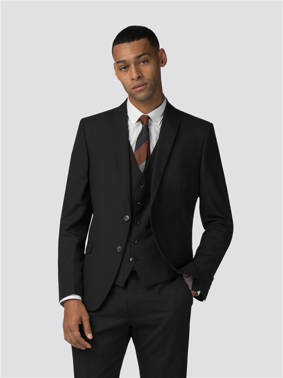 Black Tonic Camden Fit Suit