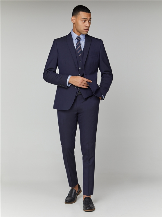 Blue Depths Tonic Camden Fit Trouser