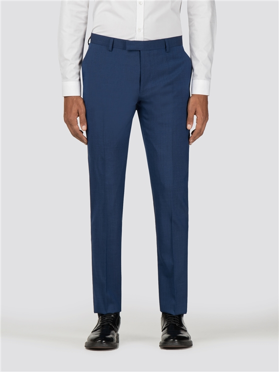 Rich Blue Tonic Camden Fit Trouser