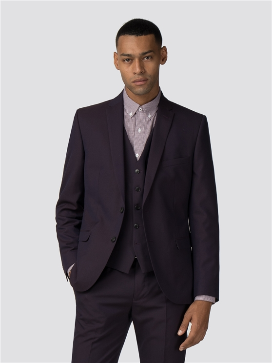 Aubergine Tonic Camden Fit Suit Jacket