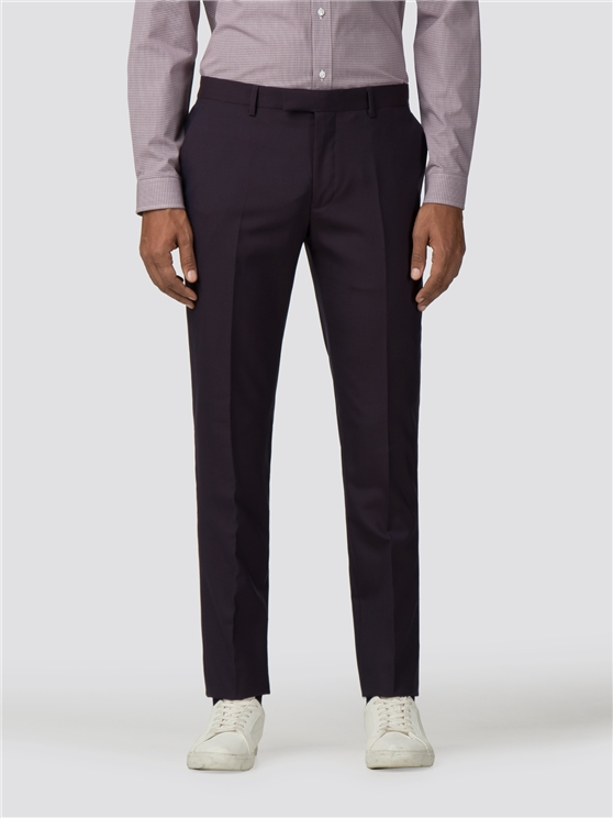 Aubergine Tonic Camden Fit Suit Trouser