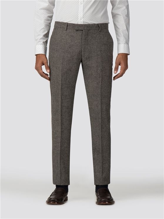 Oatmeal Tweed Donegal Camden Trouser