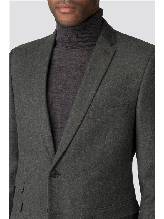 British Deep Sage Donegal Tweed Camden Suit
