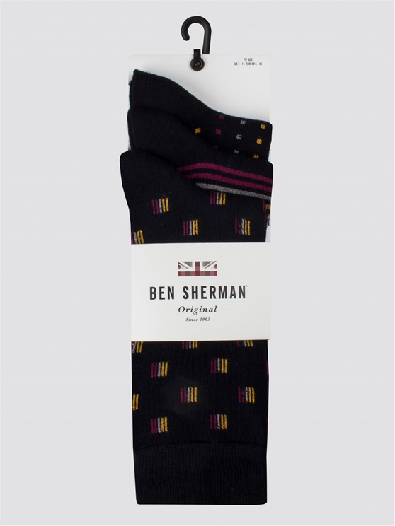 The Admiral 3 Pack Sock
