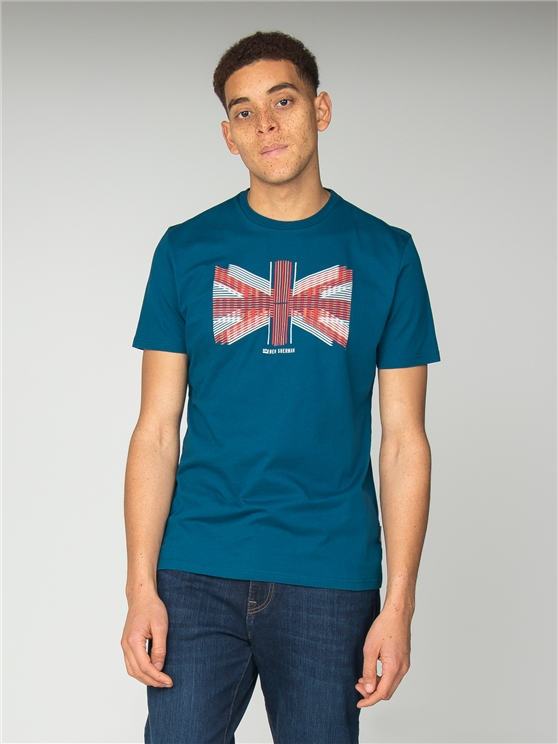 Blue Union Lines T-Shirt
