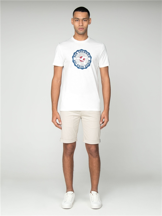 White Kings Road Target T-Shirt